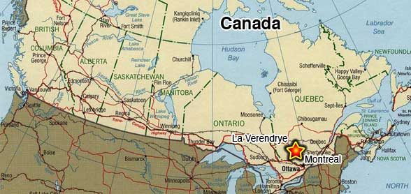 Carte Du Canada Montreal.Carte Canada Montreal Mismis